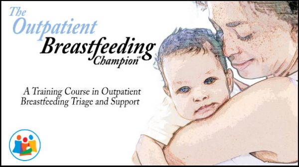 Outpatient Breastfeeding Champion Training Graphic