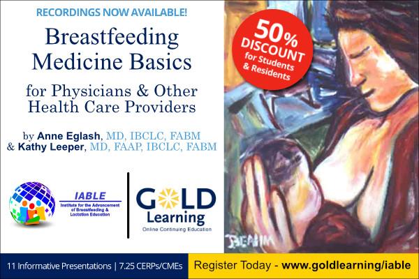 GOLD Learning Breastfeeding Medicine Basics Online