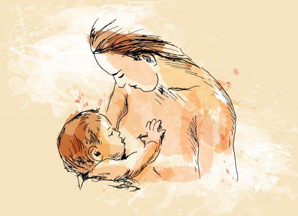 Breastfeeding Art